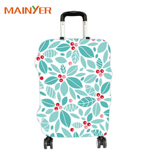 Customized design clear luggage cover