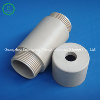 High precision molding injection Peek sleeve with virgin material Peek O ring