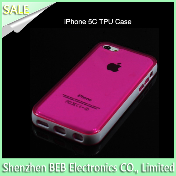 CE approved tpu cell phone case for iphone5c
