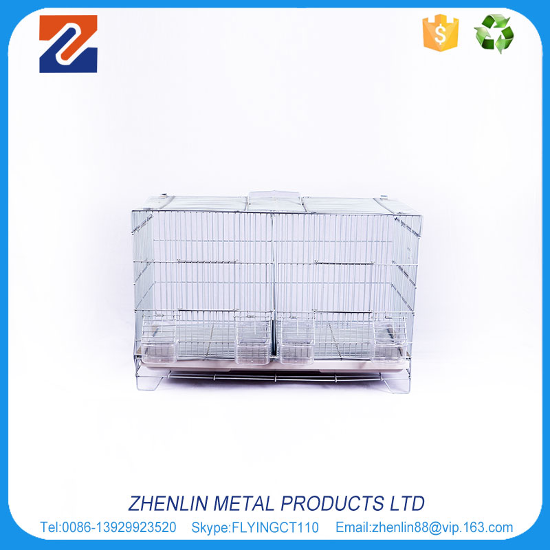 Chinese Foshan wholesale handmake indoor large wire iron canary bird cage
