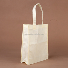 Custom logo printed factory wholesale shopping bag promotional custom pp non woven bag