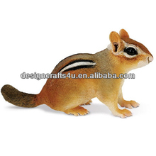 Resin Zoo Animal Chipmunk Figurine