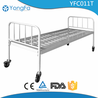 UNICEF Stainless steel screw hospital bed making