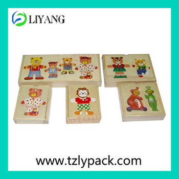 2015 hot sale images wood toys printing heat transfer film and iml film