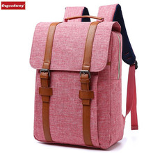 Osgoodway Men Women Canvas Backpacks School Bags for Teenagers Boys Girls Large Capacity Laptop Backpack Fashion Men Backpack