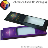 Manufacturer custom hair extension packaging box / hair weave packaging supplies