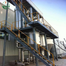 Multi-effect crystallization evaporator for electroplating waste water