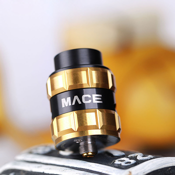 2018 Alibaba New product China manufacturing Ample Vape Mace 24mm BF RDA Dripper Being Extremely Easy to Operate and Build