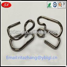 2015 top selling ISO9001 custom high elasticity lamp spring clip,pipe spring hose clip,clip holder spring in China manufacturer