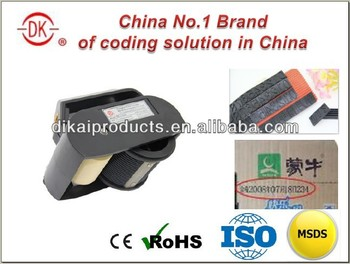 China Top-quality DK-520 Manual Carton Box Date Coding Machine