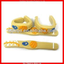 Sport items soft PVC finger ring with bendy wire for basketball (MYD-0930)