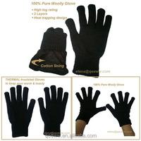 glove manufacturer custom acrylic knitted dress gloves cheap winter magic glove