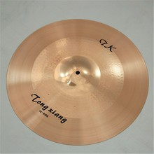 High Quality B8 brass practice drum cymbals with New design for manufacture