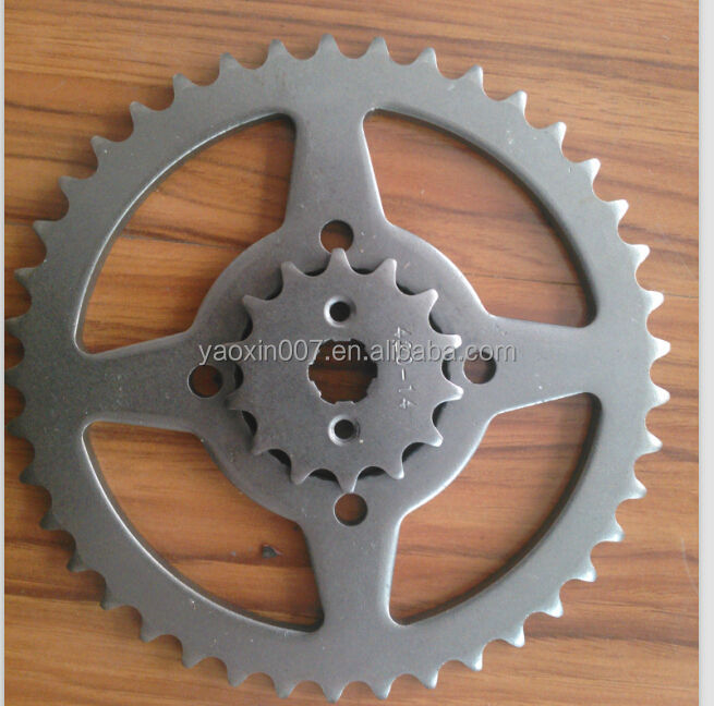 CD 70 sprocketone time stamping press sprocket cutting sprocket chain and sprocket