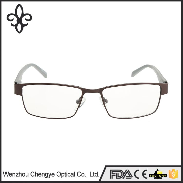 Latest product special design metal rimless eyeglasses optical frames wholesale