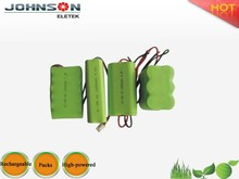 best manufaturer price ni-mh rechargeable battery aaa 4.8v 700mah