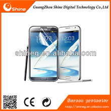 Reducing fingerprints Anti-fingerprint screen protector cell phone for samsung galaxy note 2
