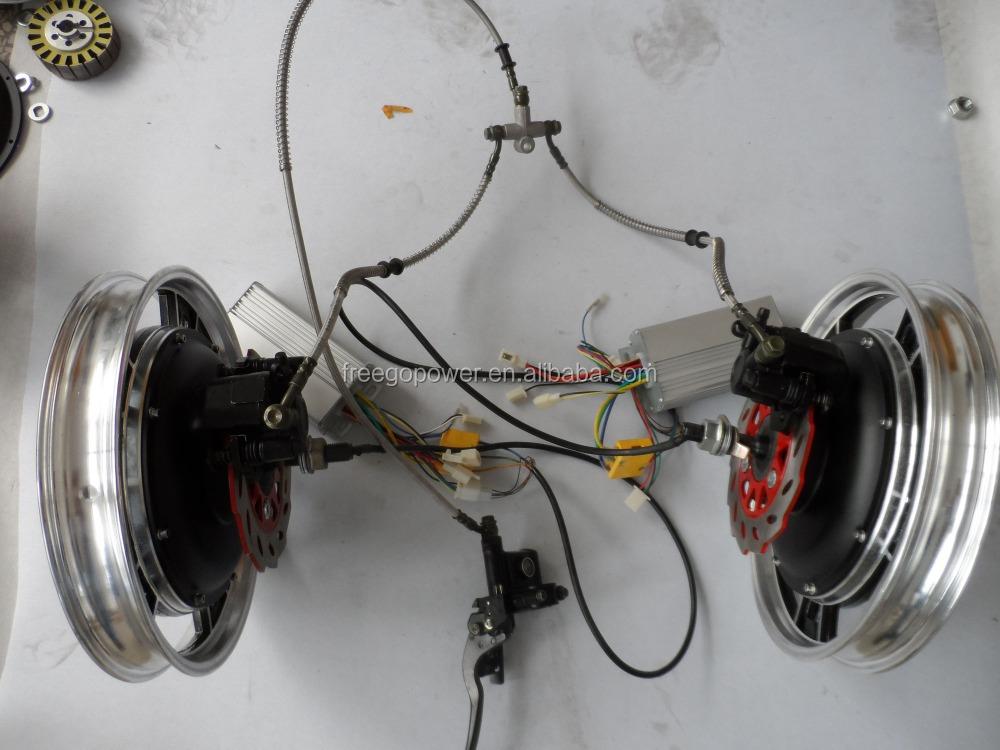 48v 1000w Single Shaft Electric Wheel Hub Motor Buy