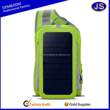 Custom outdoor mobile made charger solar bag