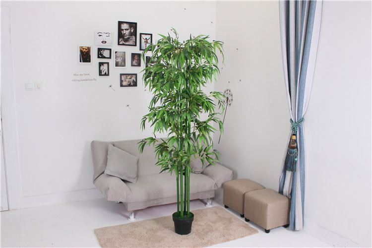 Best prices superior quality office use artificial bamboo tree of leaves