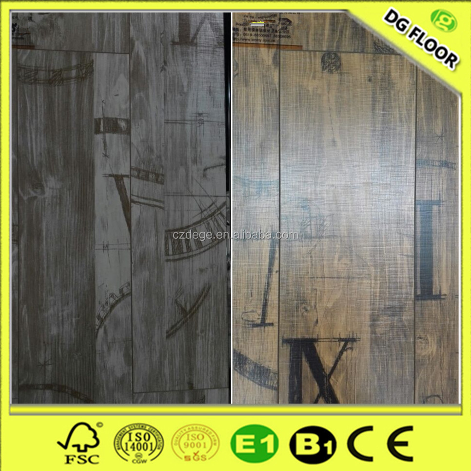 Traditional living soundproof 8mm/12mm easy click premium laminate floor
