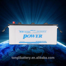 wholesale automobile battery replacement cheap price 12V120AH/120AH car battery