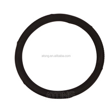 sheepskin leather steering wheel cover/2015 new design