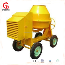 600L Diesel Engine Concrete Mixer With Four Wheels