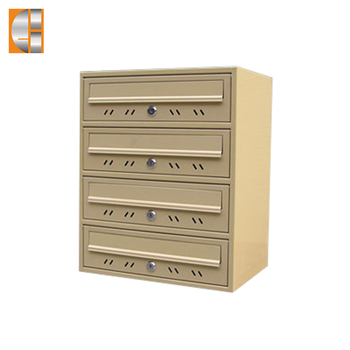 GH-V14C  stainless steel  apartment mailbox