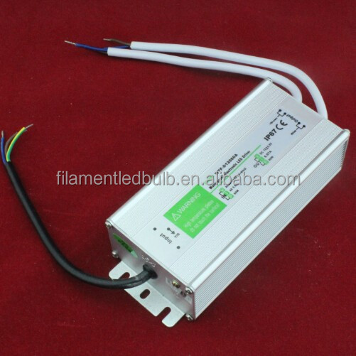 Aluminum case 24v dc power supply 15w led driver waterproof psu 15w 24v 0.63a lpv
