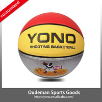 2015 Cheap price in stock coloful PU tranning basketball