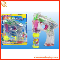 Summer toy Flashing Bubble Gun for kids toys, 2 bottles of bubble water inside BB269008888B