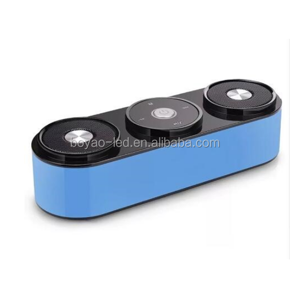 2.1 Channel Powerful Bass Wireless Stereo Bluetooth Speaker With Microphone Support FM Radio TF Card Play Touch Control