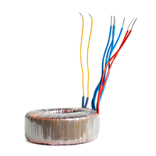 Toroidal 220V 12V ac Transformer With Customized Rating Power and 100% Electric Parameter Test