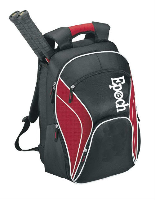 2013 New black tennis bag & hot sale stylish sport backpack