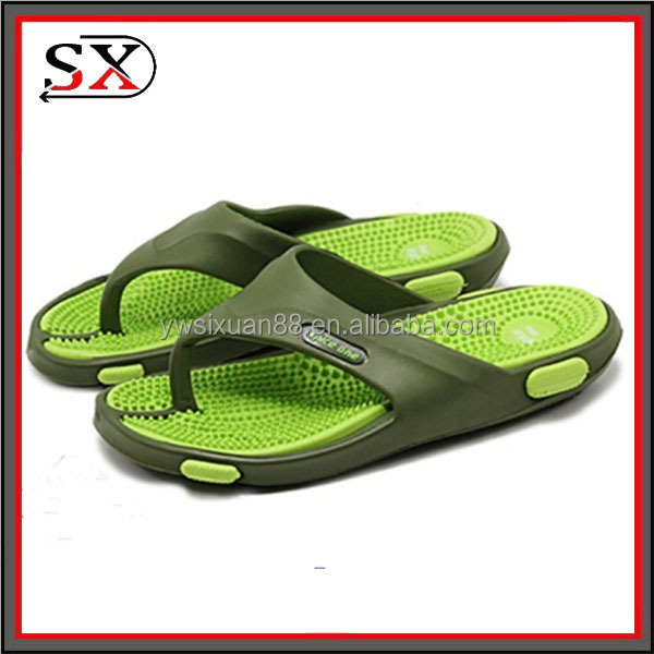 China supplier best sell fashion EVA flip flops men s slippers wholesale