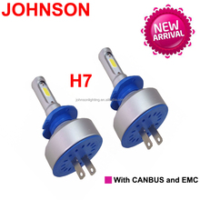 JOHNSON high power led headlight bulb h7 d3s led head lights conversion