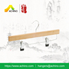 Bamboo Skirt Hanger With Clip BPH202