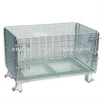 collapsible warehouse cage