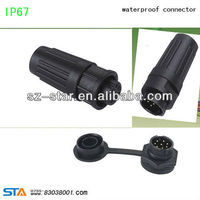 electrical plug 5 pin wire harness waterproof connectors