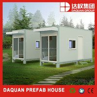 Daquan cheap customized design prefabricated flat pack 40ft container office