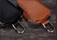2013 new arrival leather key wallet key case for keyring