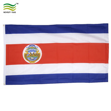 3x5ft Durable Polyester National Costa Rica Flag With Two Grommets