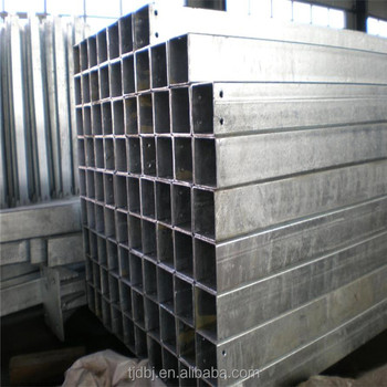 allibaba com hot dip galvanized steel rectangular / square tube