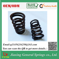 Manufacturer Custom Color Plated Compression Spring