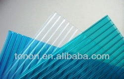 4mm,6mm,8mm clear policarbonato sheet PC55 polycarbonate hollow sheet coating for pools