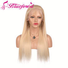 Long blonde human hair full lace thin skin wig caps