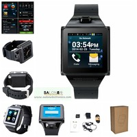 New Arrival MTK6577 Dual Core Android 4.04 WiFi GPS Bluetooth 4.0 GSM new model watch mobile phone