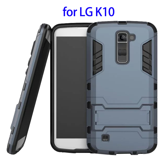 Protective Belt Clip Rugged Kickstand Hybrid Case Cover for LG K10, for LG K10 Combo Cover