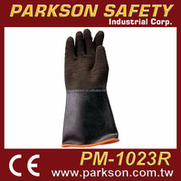 PARKSON SAFETY Taiwan Industrial Natural Rubber Fishing Hand Protective Safety Gloves CE EN388 PM-1023R